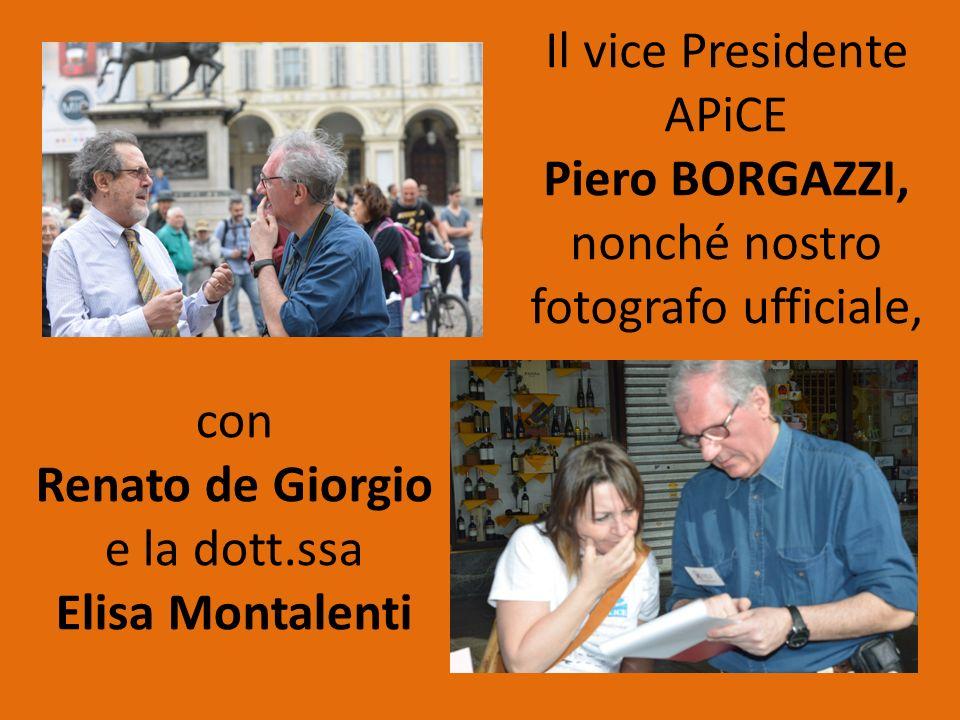 Piero BORGAZZI, Renato de Giorgio Elisa Montalenti