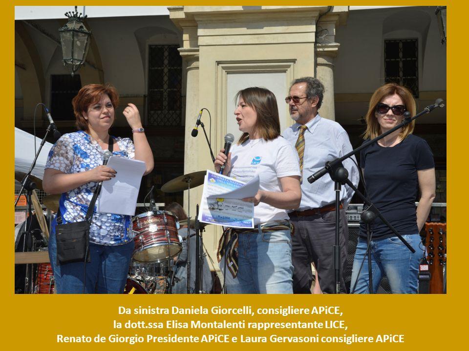 Da sinistra Daniela Giorcelli, consigliere APiCE,