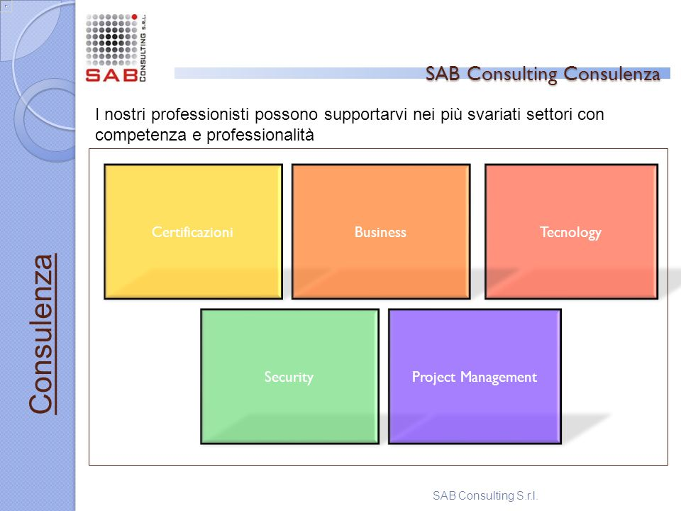 SAB Consulting Consulenza