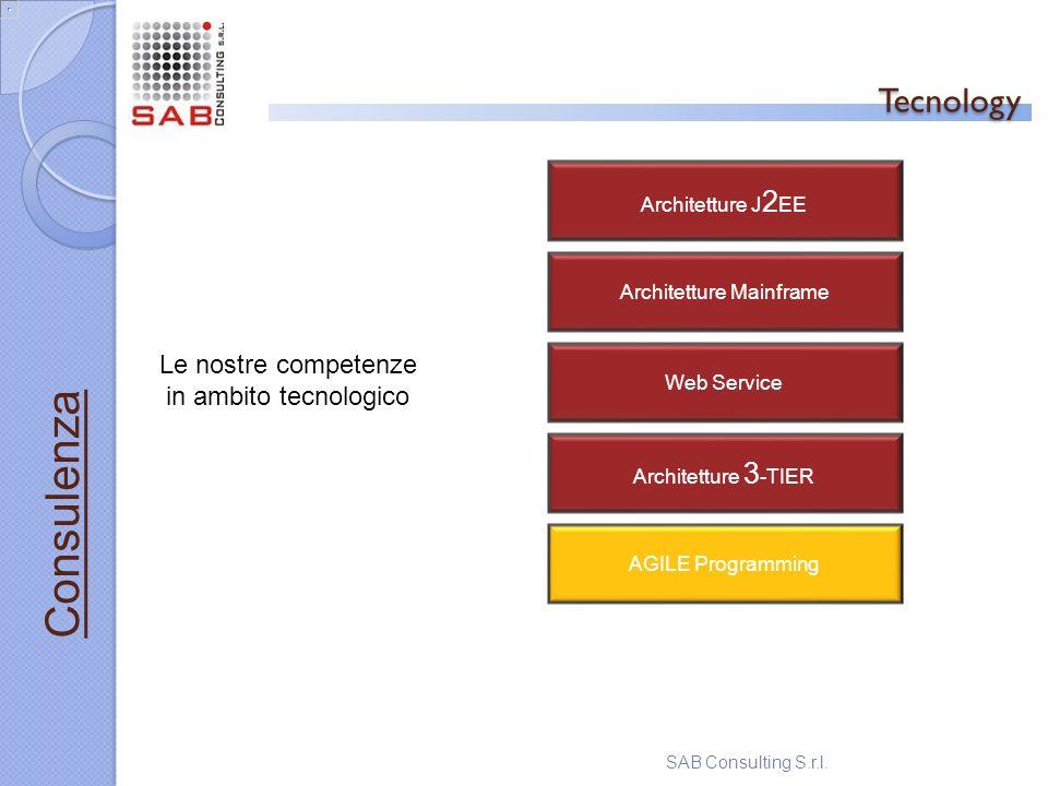 Tecnology Consulenza Le nostre competenze in ambito tecnologico
