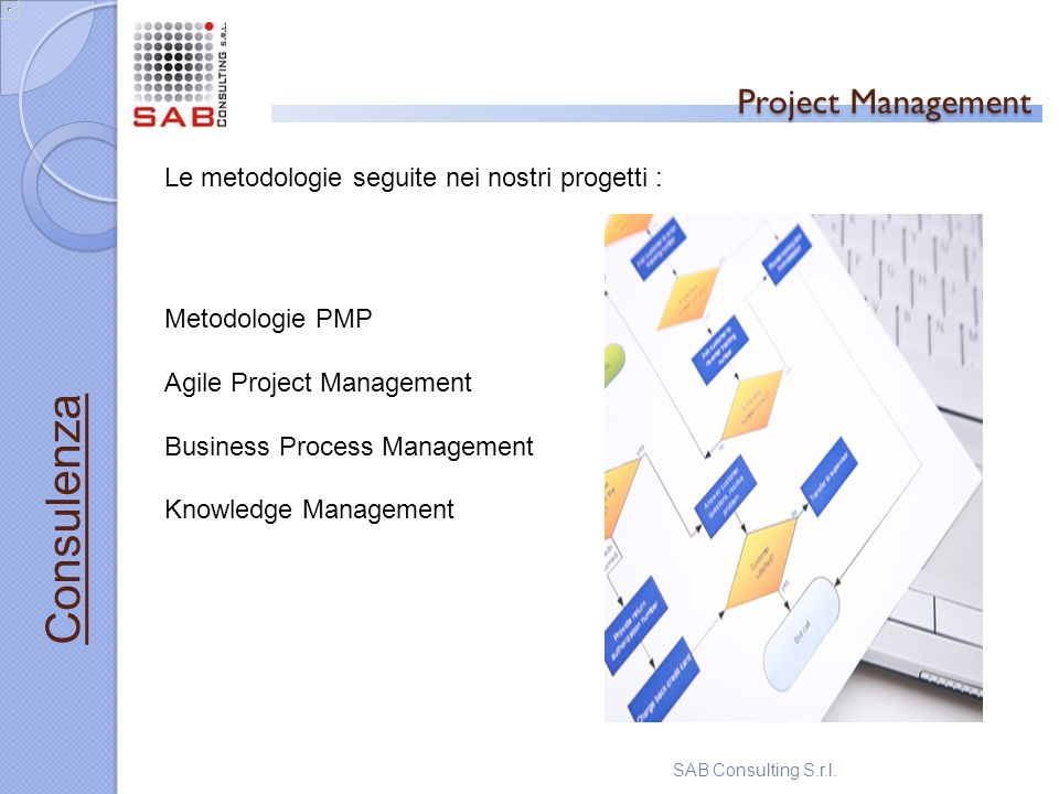 Project Management Consulenza