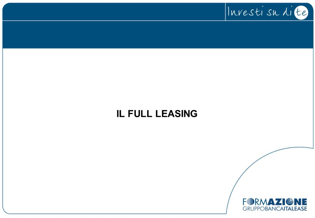 IL FULL LEASING