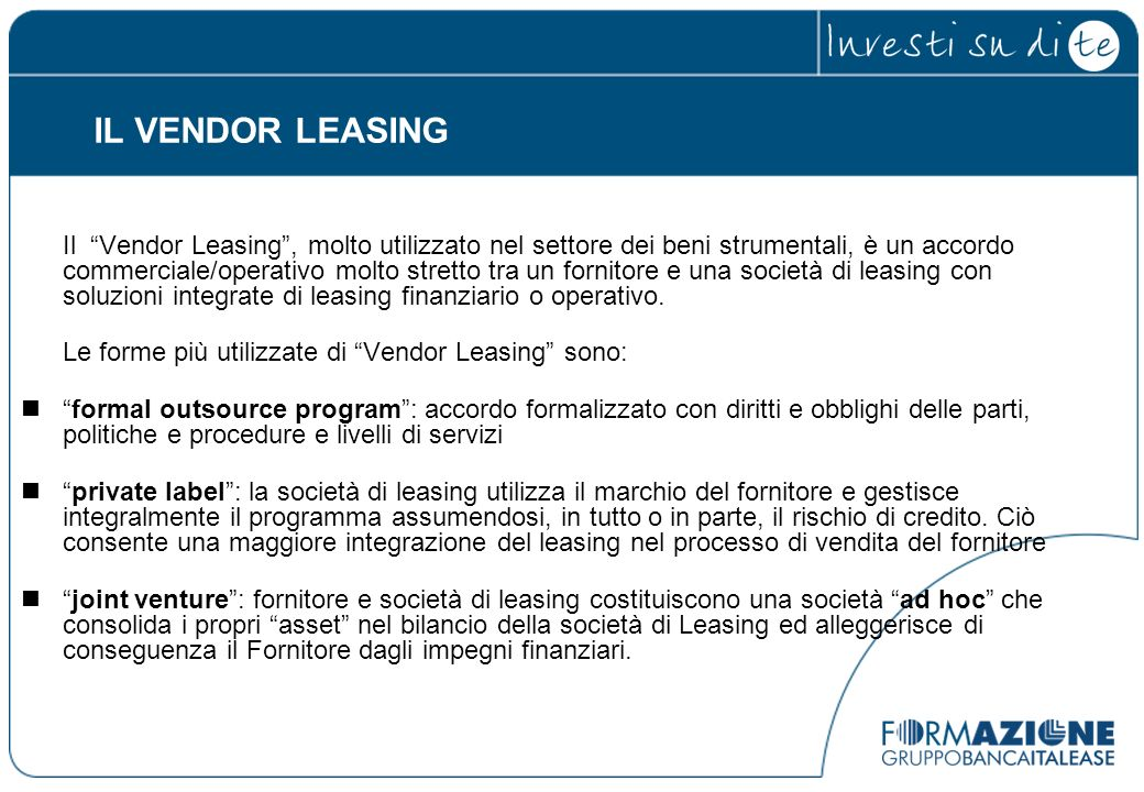 IL VENDOR LEASING