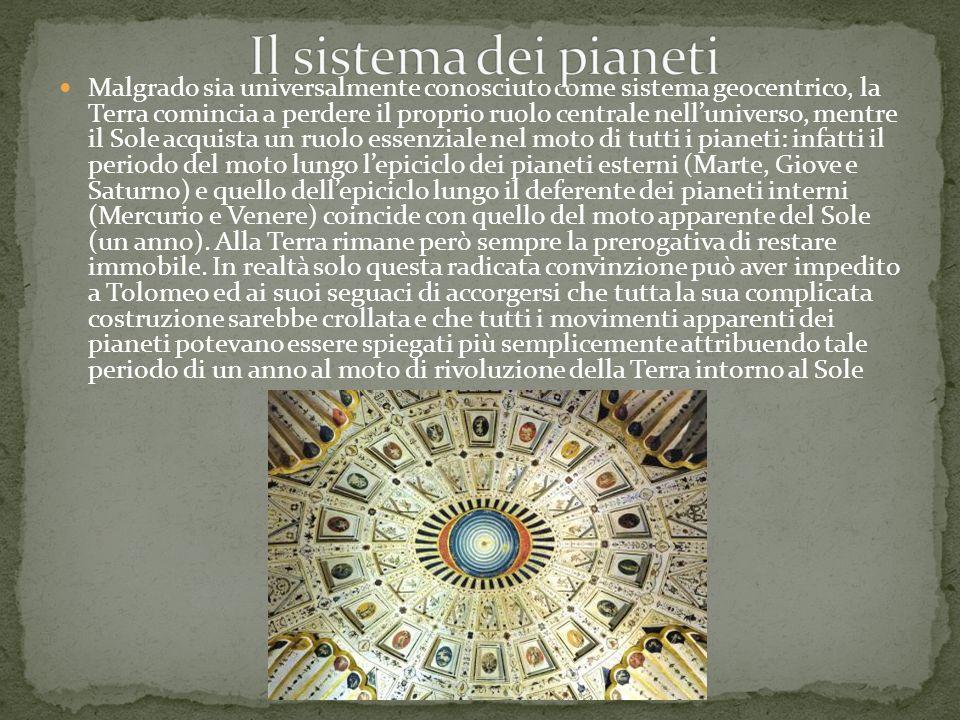 Il sistema dei pianeti