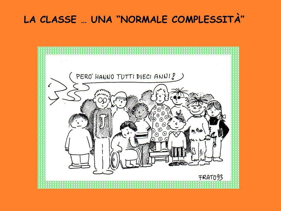 LA CLASSE … UNA NORMALE COMPLESSITÀ