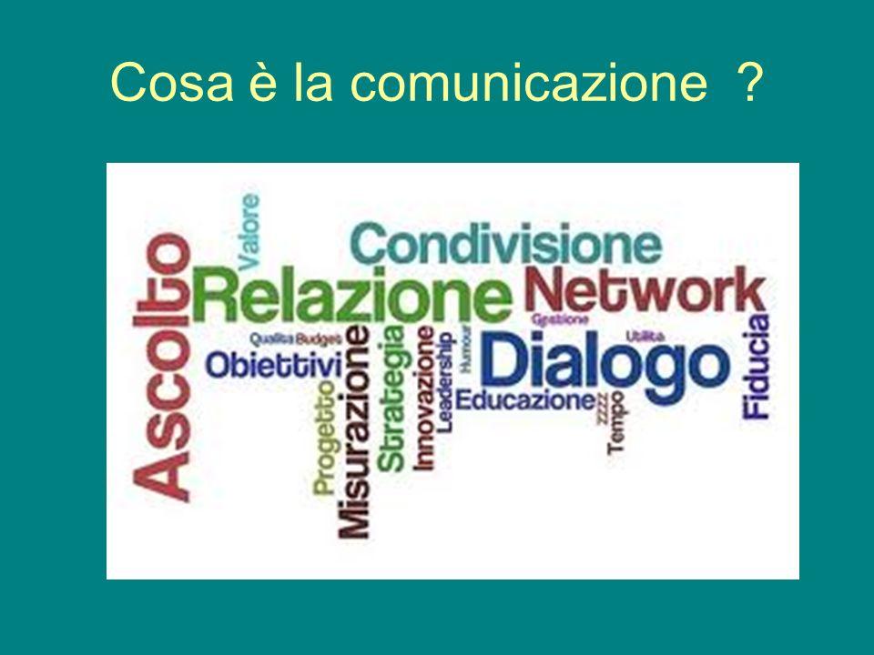 Cosa è la comunicazione