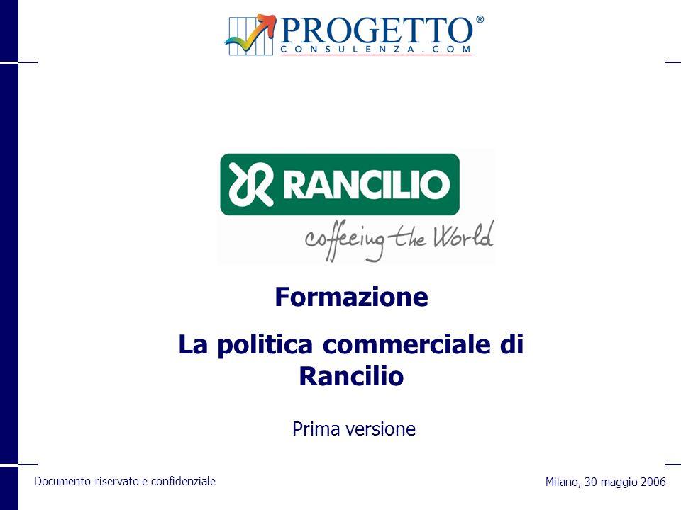 La politica commerciale di Rancilio