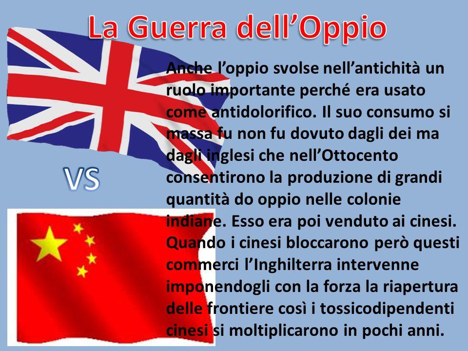 La Guerra dell'Oppio VS