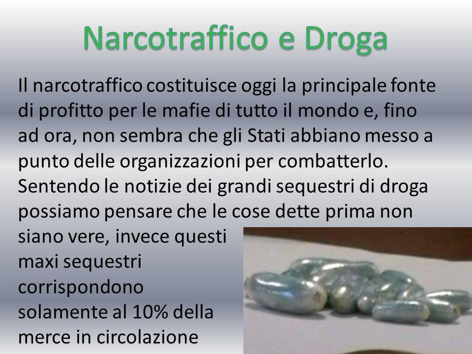 Narcotraffico e Droga