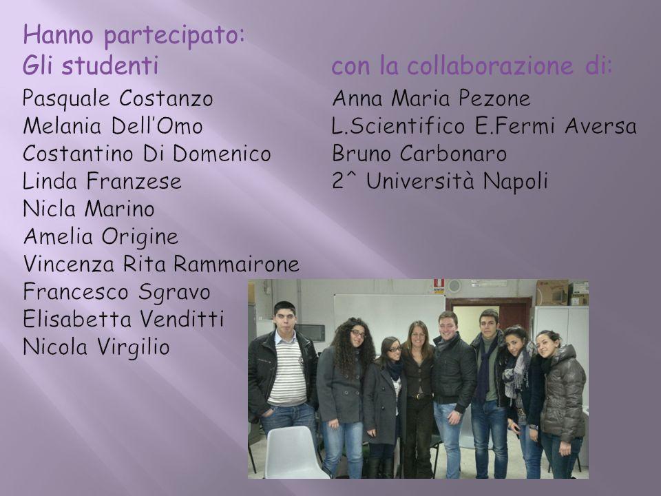 Gli studenti con la collaborazione di: