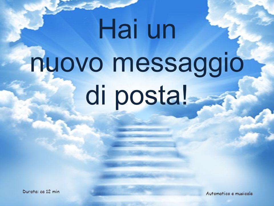 Hai un nuovo messaggio di posta!