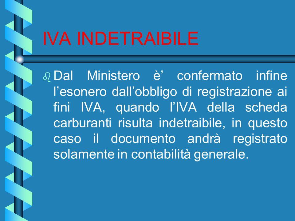 IVA INDETRAIBILE