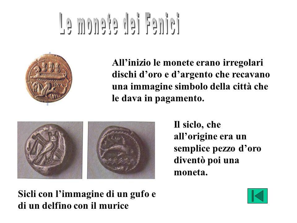 Le monete dei Fenici