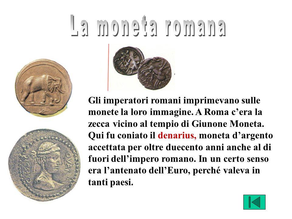 La moneta romana