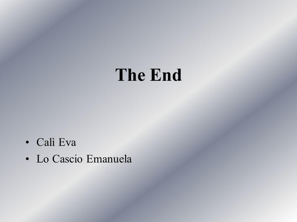 The End Calì Eva Lo Cascio Emanuela