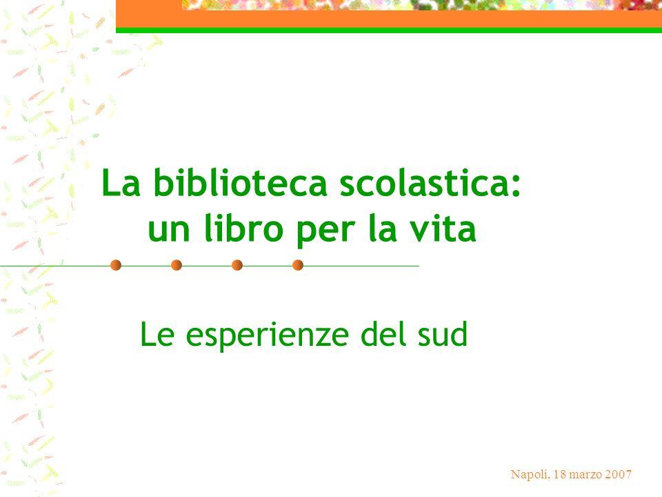 La biblioteca scolastica: