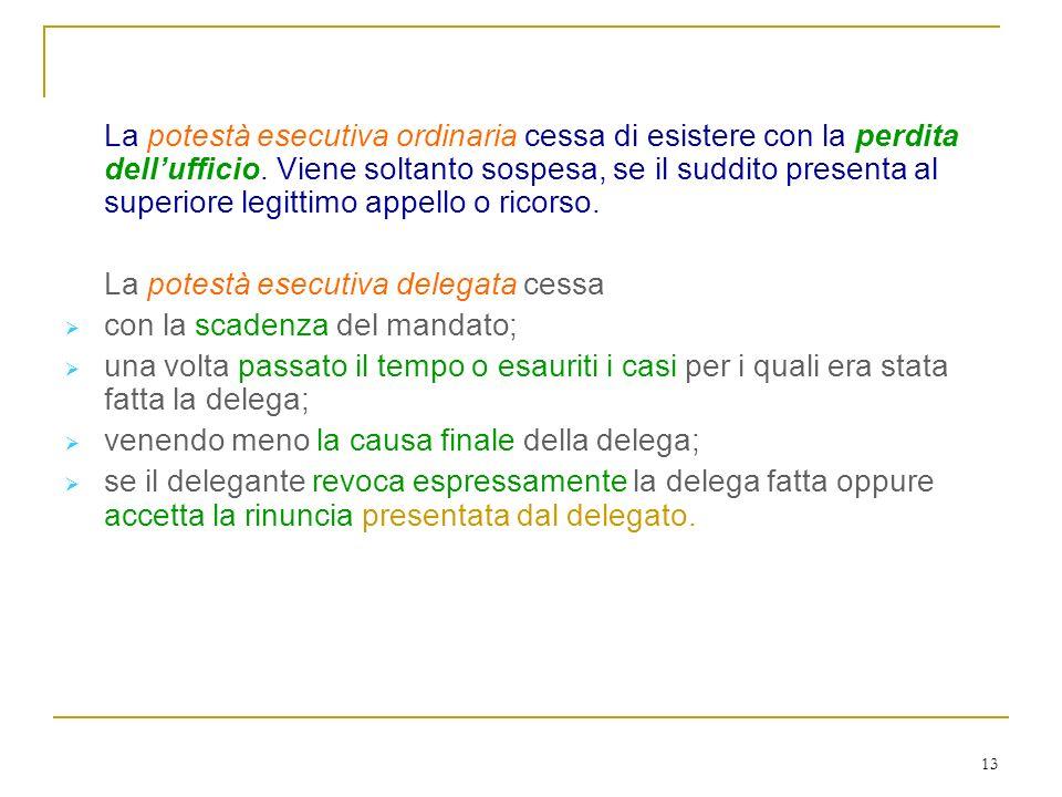 Cessazione (c. 142-143)
