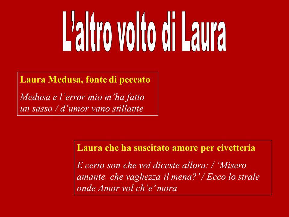 L'altro volto di Laura Laura Medusa, fonte di peccato
