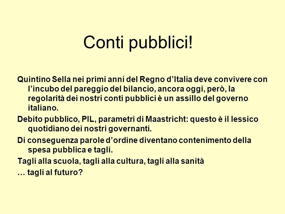 Conti pubblici!