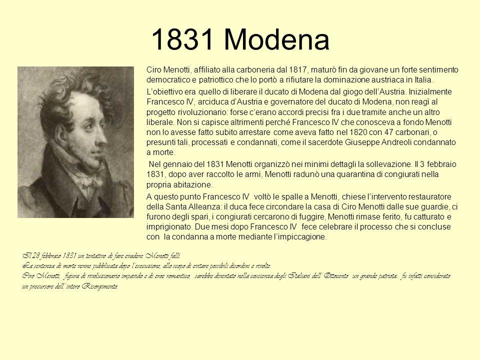 1831 Modena