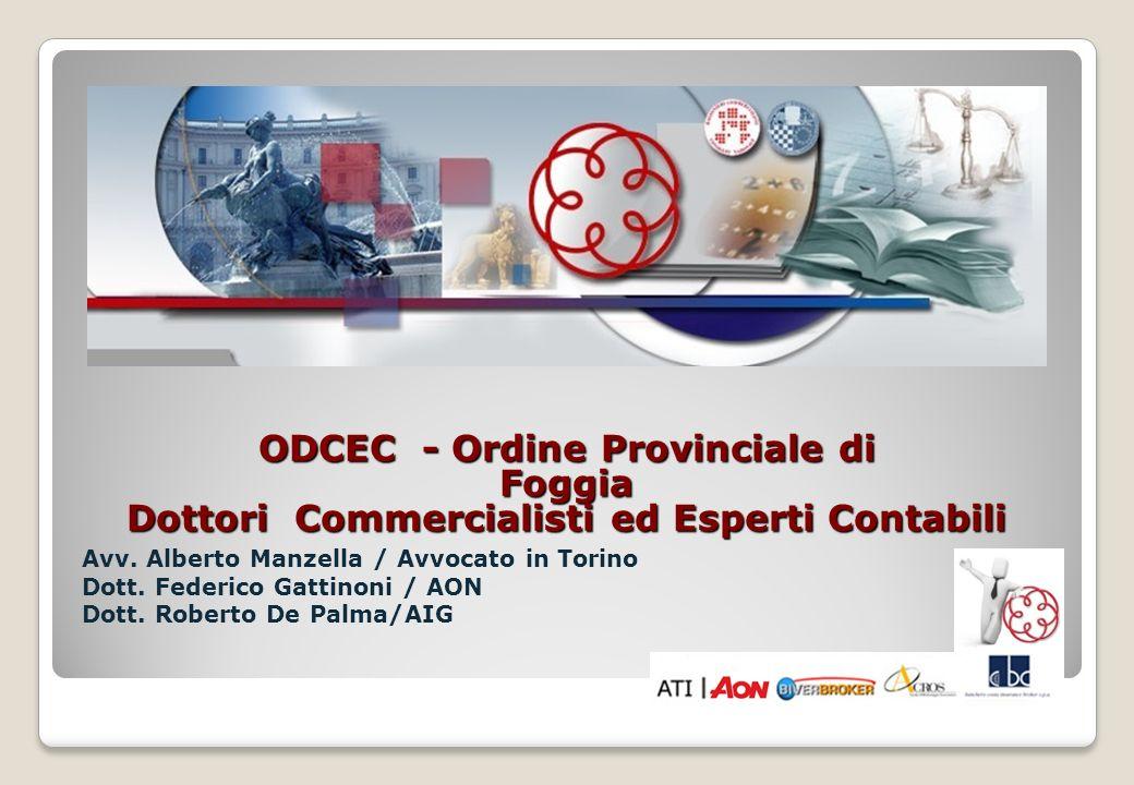 ODCEC - Ordine Provinciale di Foggia Dottori Commercialisti ed Esperti Contabili