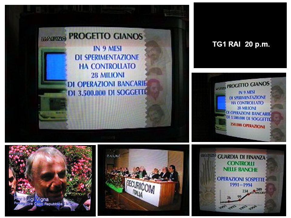 TG1 RAI 20 p.m.