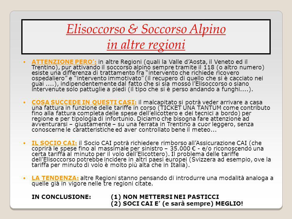 Elisoccorso & Soccorso Alpino