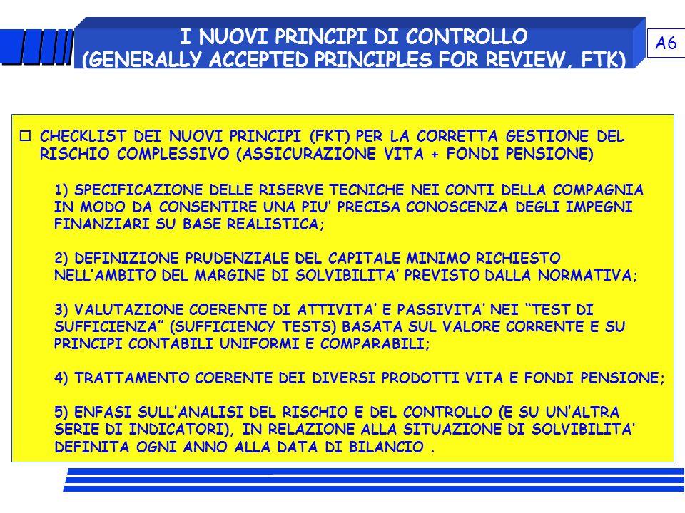 VERSO UN NUOVO MODELLO DI CONTROLLO DELLA SOLVIBILITA'