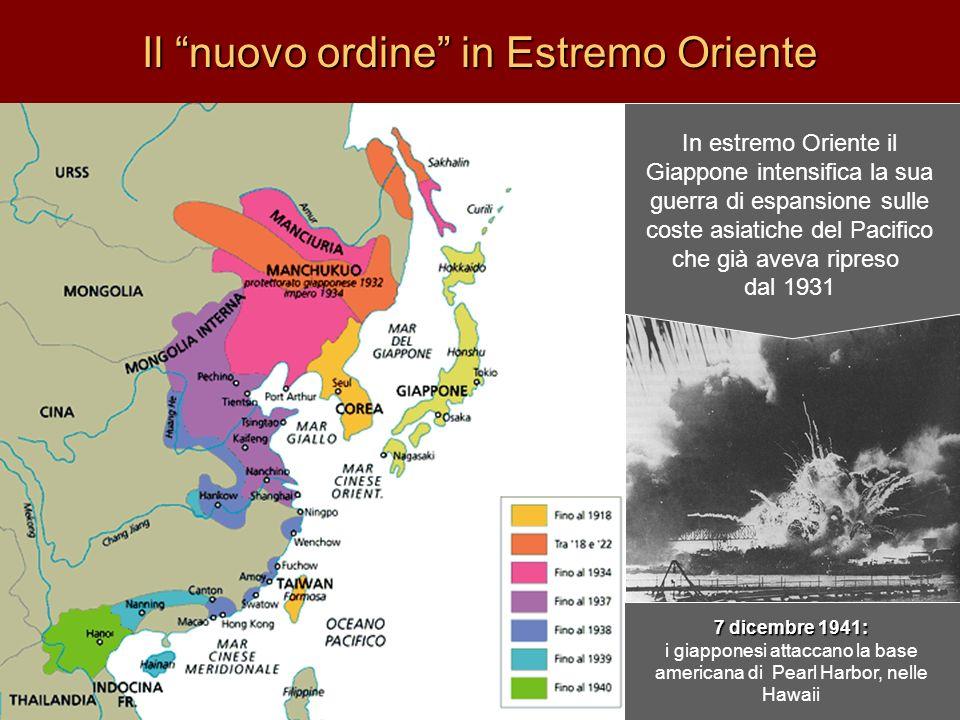 Il nuovo ordine in Estremo Oriente