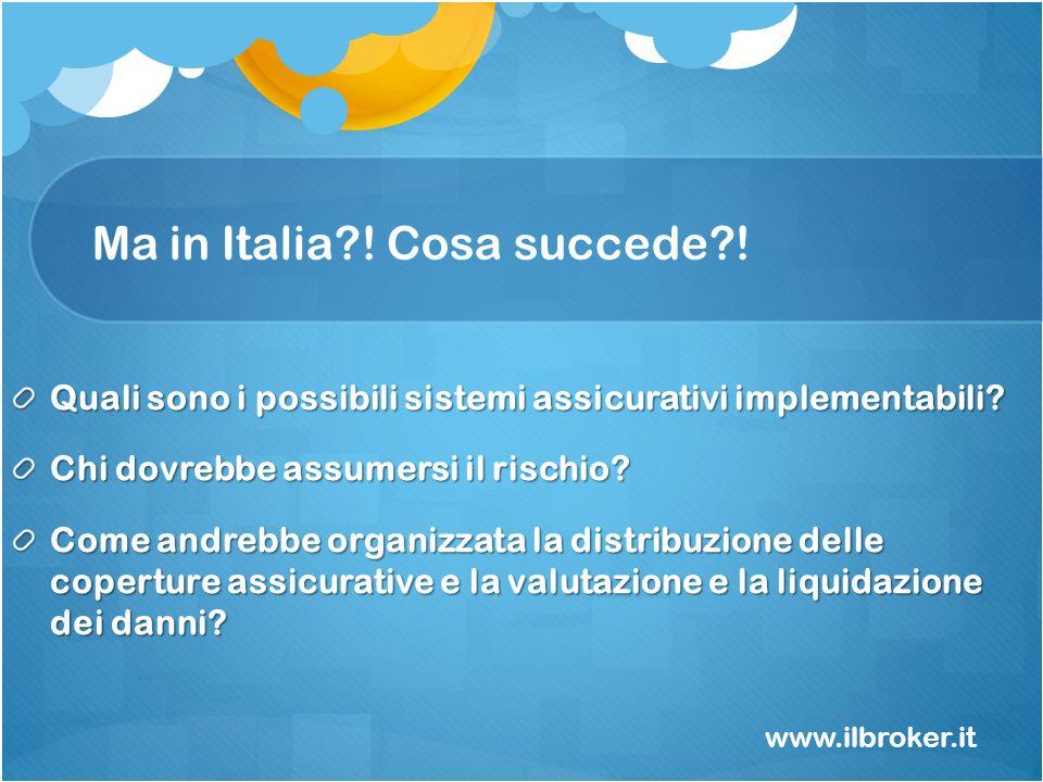 Ma in Italia ! Cosa succede !