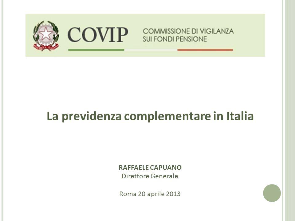La previdenza complementare in Italia