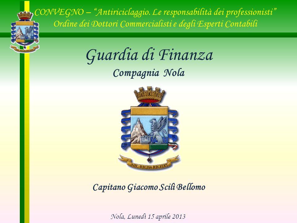 Capitano Giacomo Scilì Bellomo