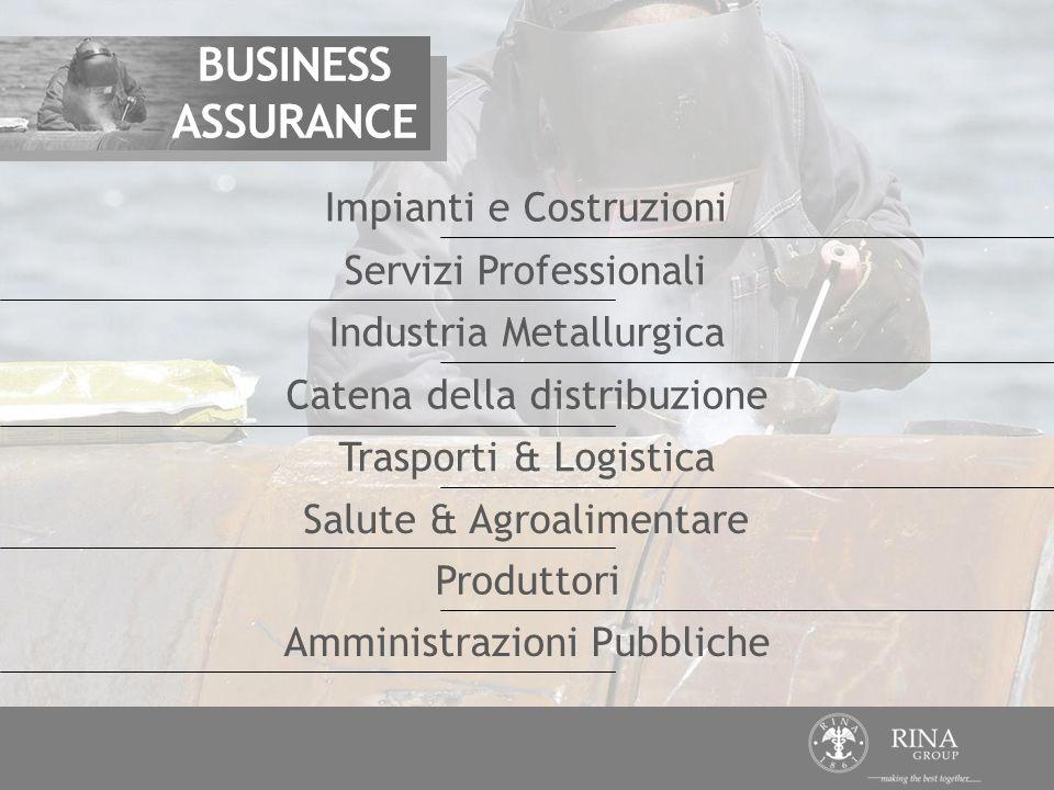 BUSINESS ASSURANCE Impianti e Costruzioni Servizi Professionali