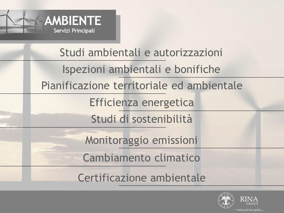 AMBIENTE Studi ambientali e autorizzazioni