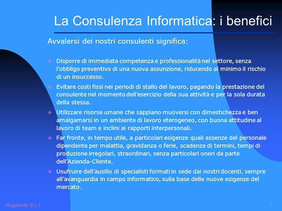 La Consulenza Informatica: i benefici