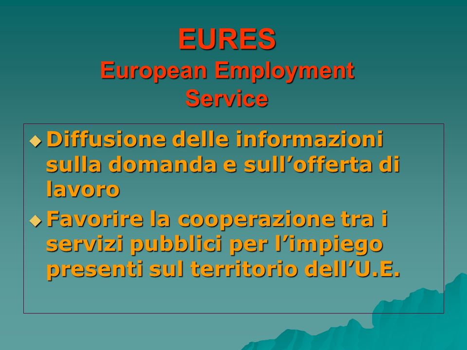 EURES European Employment Service