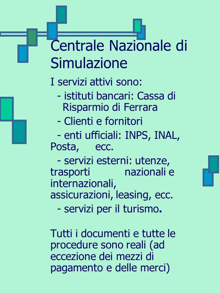 Centrale Nazionale di Simulazione