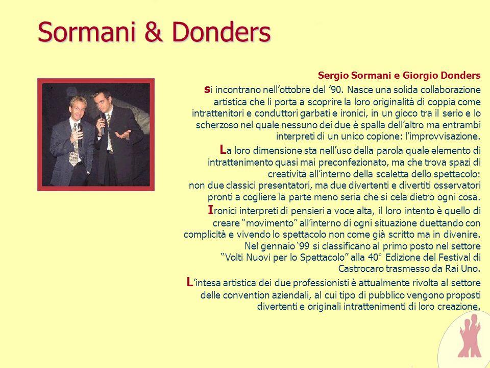 Sormani & Donders