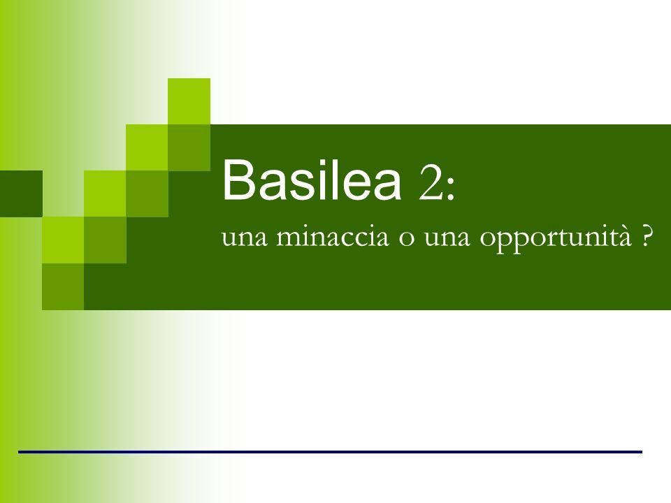 Basilea 2: una minaccia o una opportunità