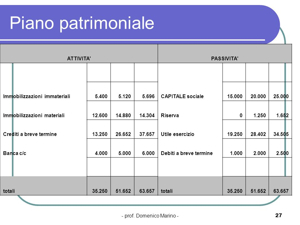 - prof. Domenico Marino -