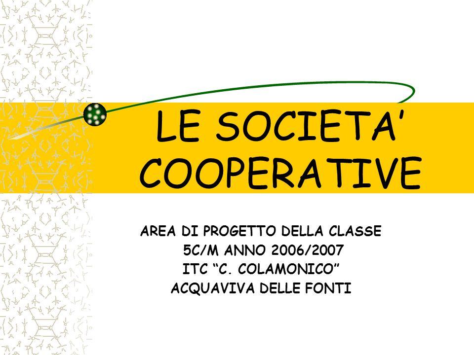LE SOCIETA' COOPERATIVE