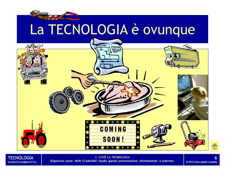 La TECNOLOGIA è ovunque