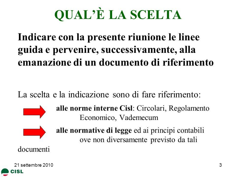 29/03/2017 QUAL'È LA SCELTA.