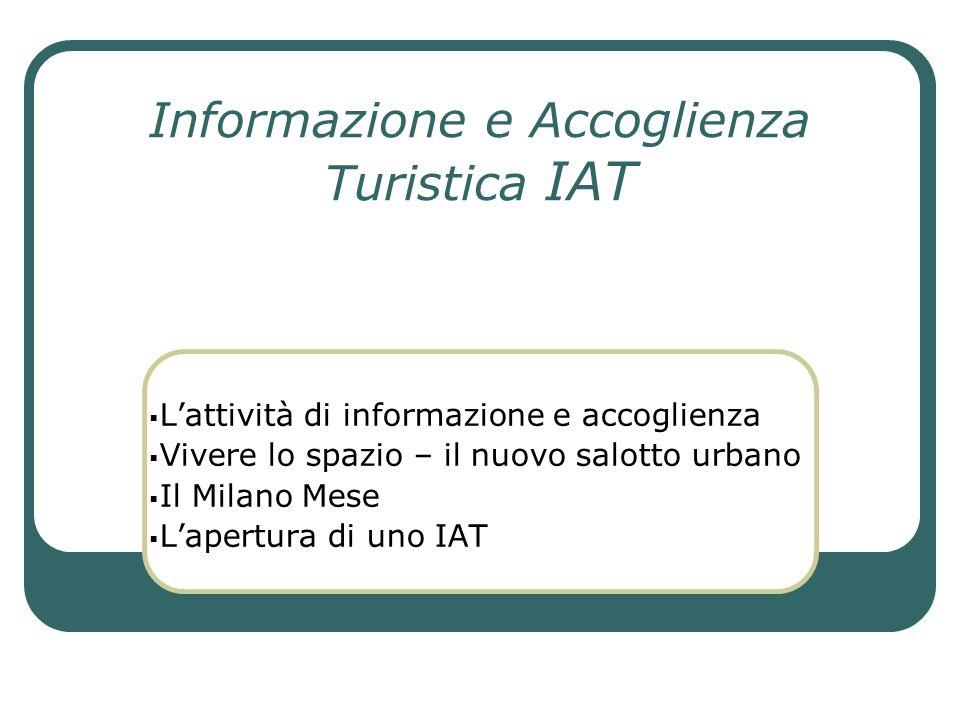 Informazione e Accoglienza Turistica IAT