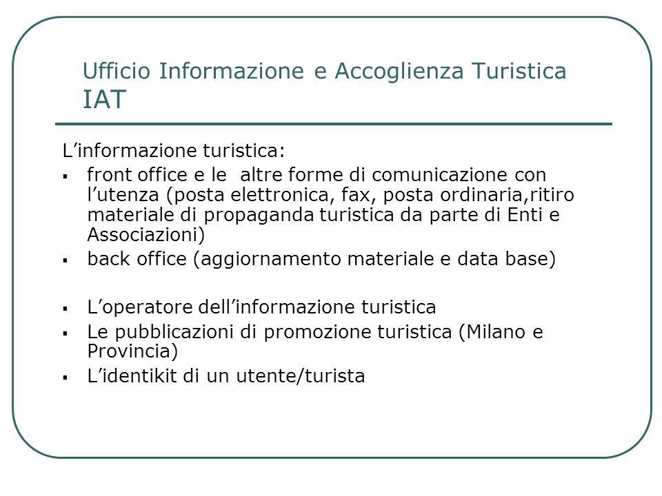 Ufficio Informazione e Accoglienza Turistica IAT