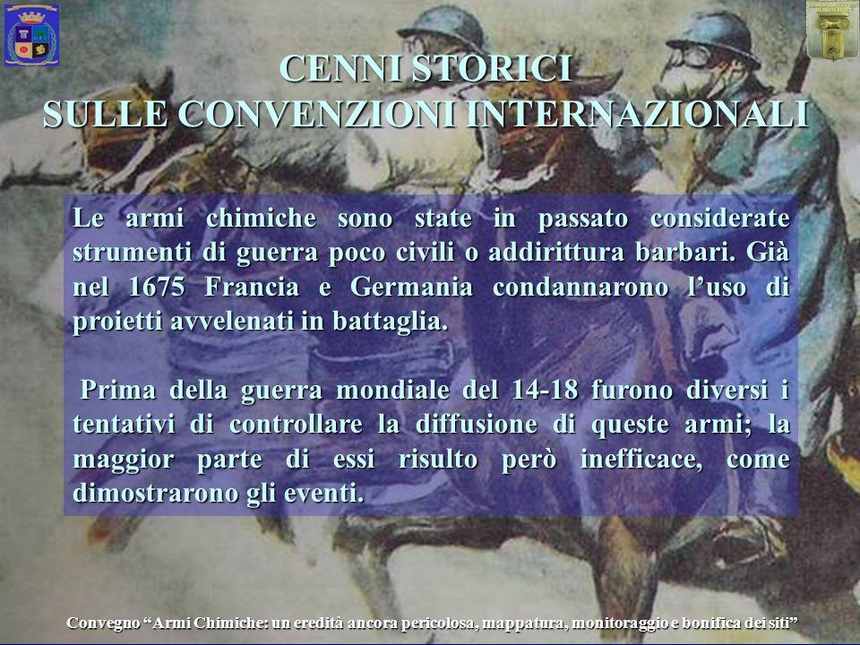 SULLE CONVENZIONI INTERNAZIONALI