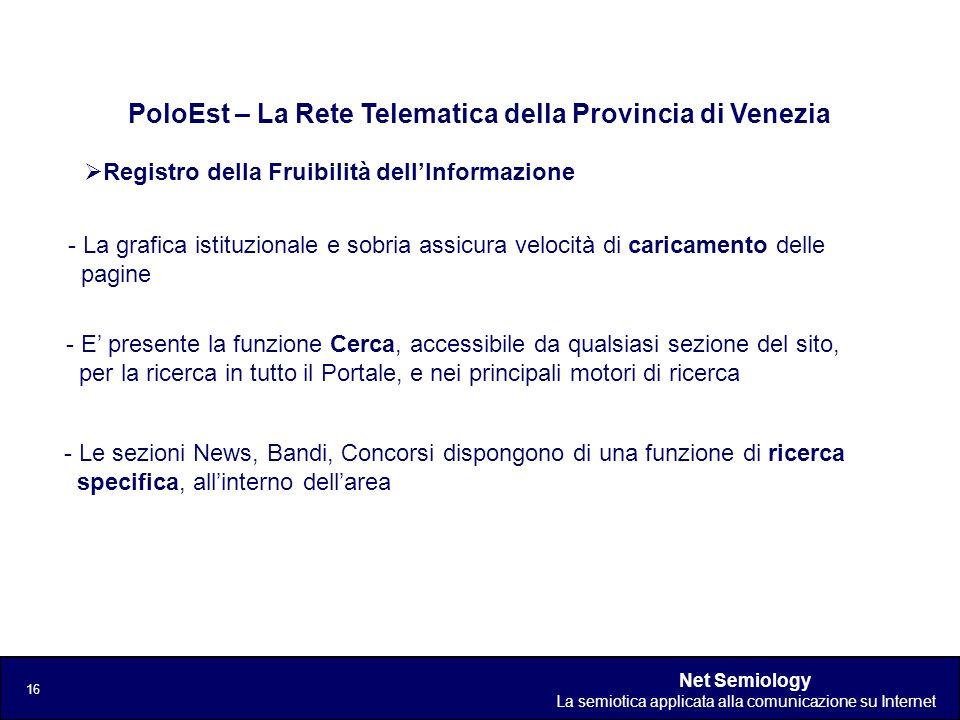 PoloEst – La Rete Telematica della Provincia di Venezia