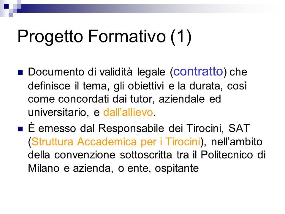Progetto Formativo (1)