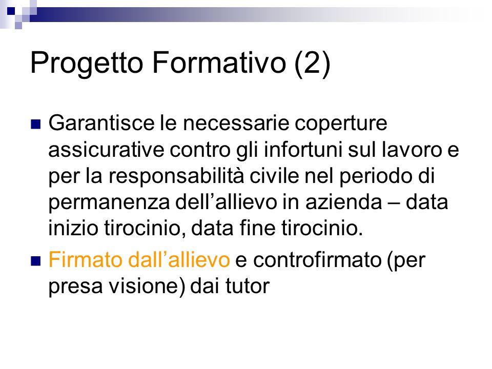Progetto Formativo (2)