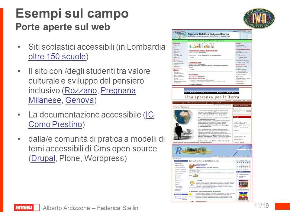 Esempi sul campo Porte aperte sul web